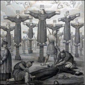 [martyrs, Japan] Martiri Giapponesi, 1862