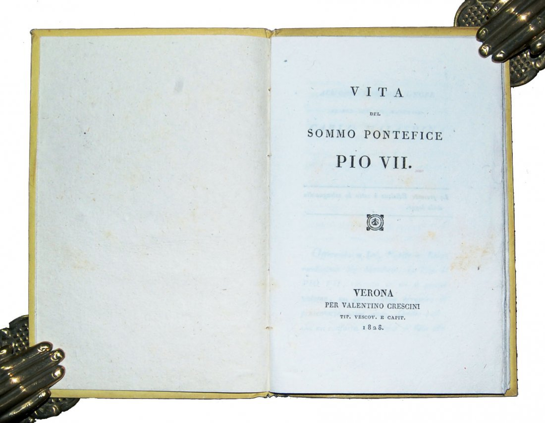 [Popes, Biography] Pius VII, 1828