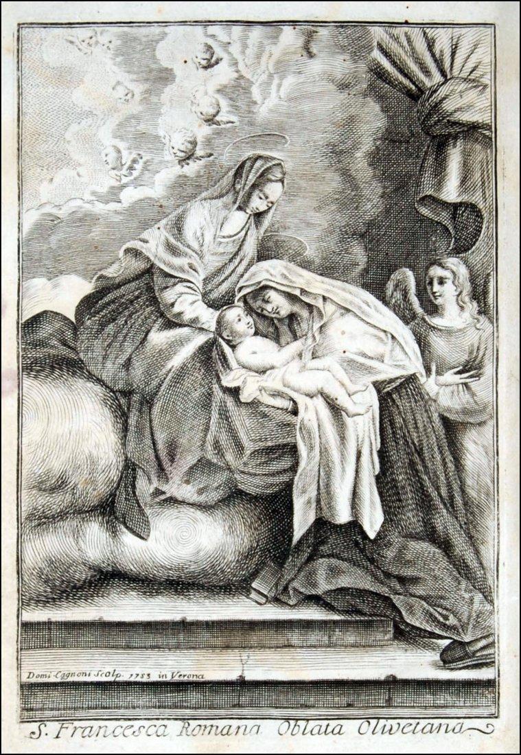 [Saints, Lives, St. Frances of Rome] Cepari, 1753
