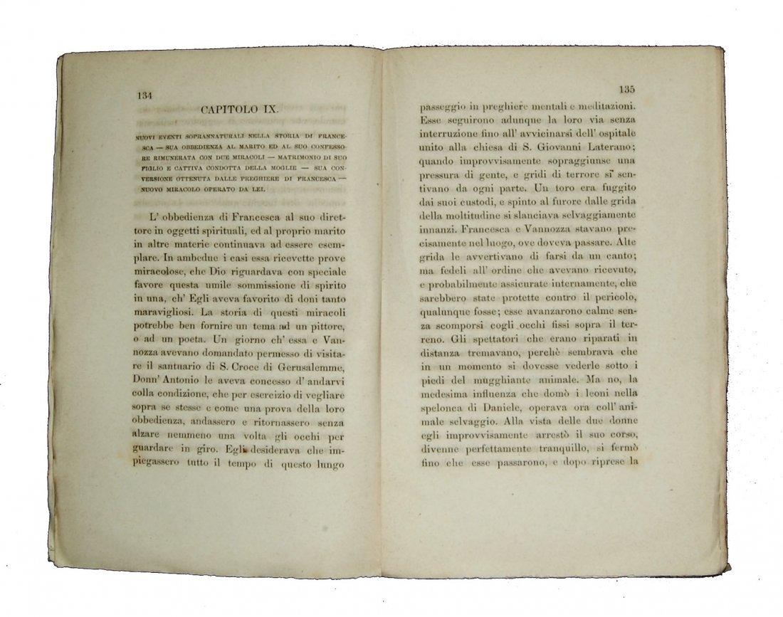 [Saints, Lives, St. Frances of Rome] Cepari, 1753 - 6