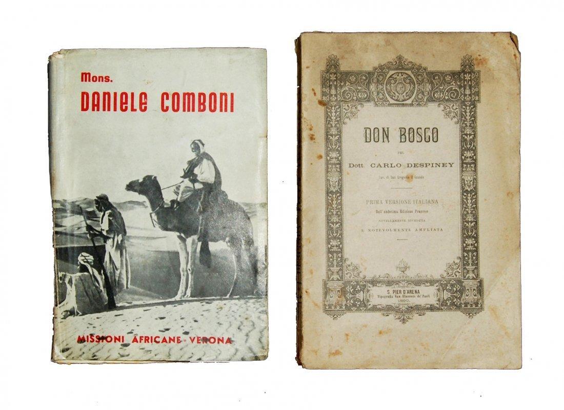 [Saints, Lives, Don Bosco, St. Daniel Comboni] 2 works
