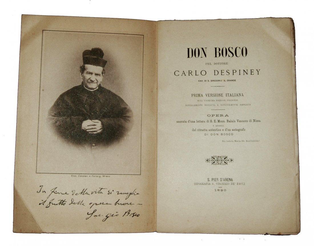 [Saints, Lives, Don Bosco, St. Daniel Comboni] 2 works - 3