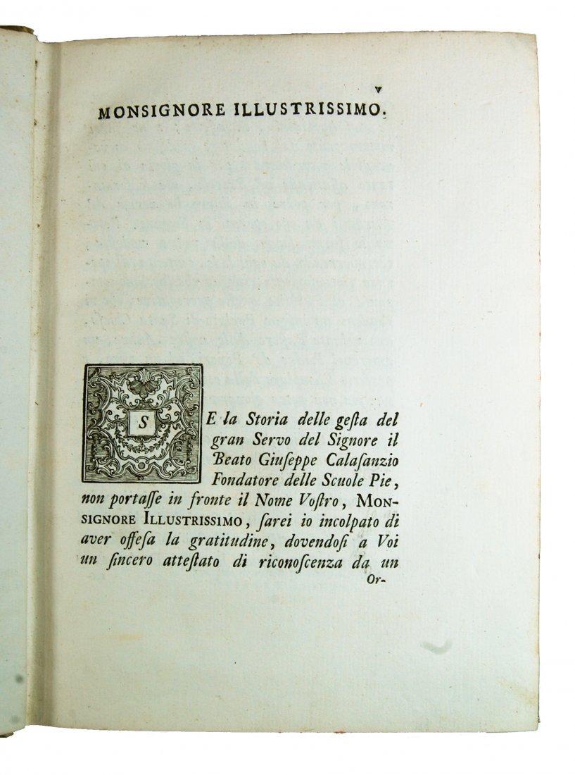 [Saints, Lives, St. Joseph Calasanz] Terzoli, 1748 - 3