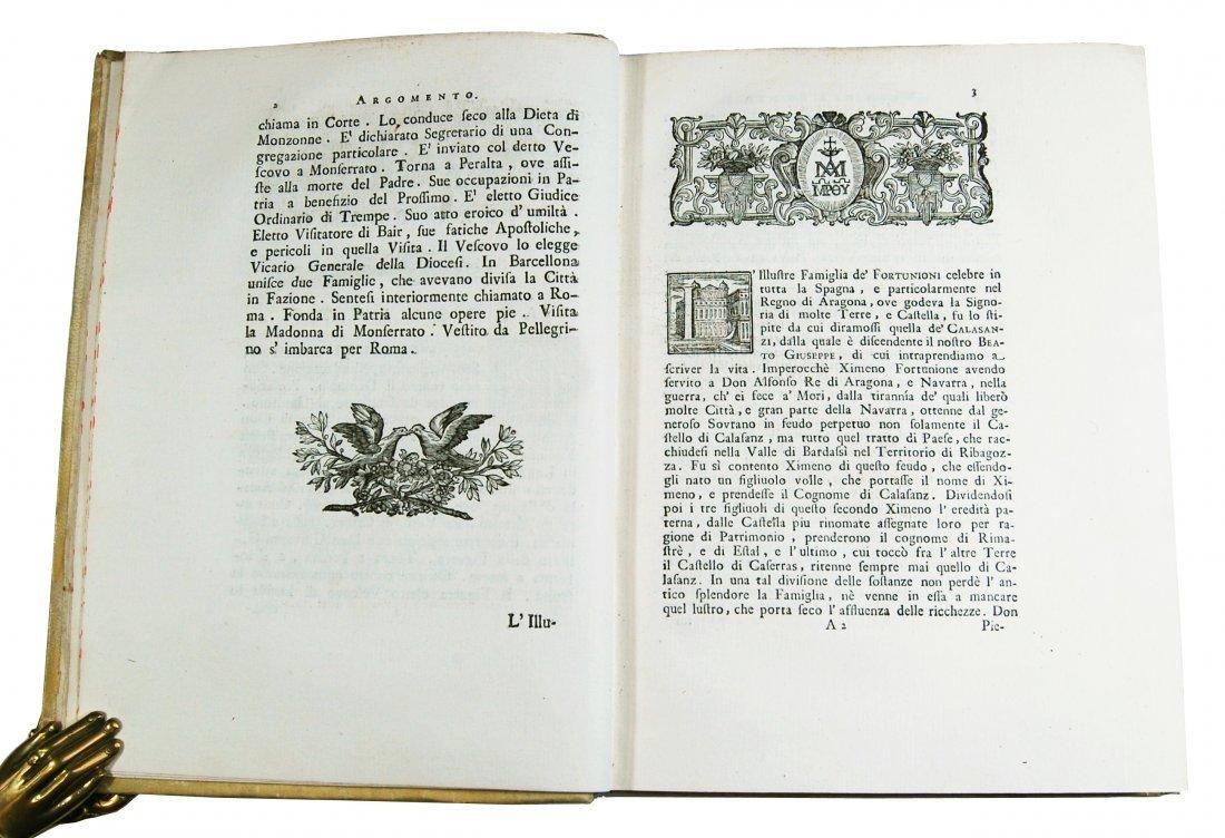 [Saints, Lives, St. Joseph Calasanz] Terzoli, 1748 - 4