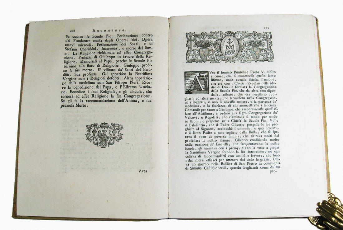 [Saints, Lives, St. Joseph Calasanz] Terzoli, 1748 - 5