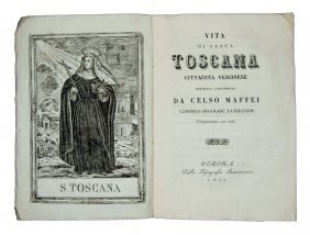 [saints, Lives St. Toscana] Celso Maffei, 1830