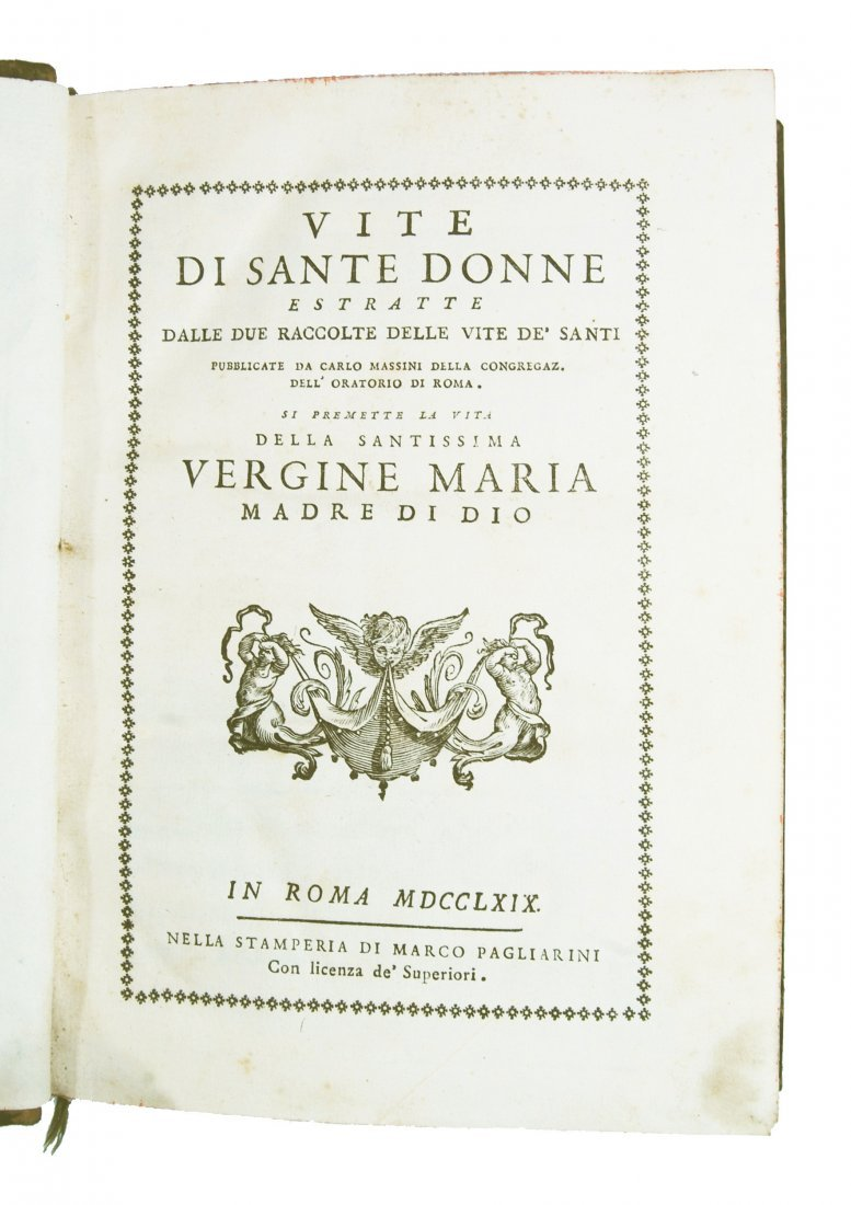 [Saints, Women, Lives] Massimi, 1769 - 2