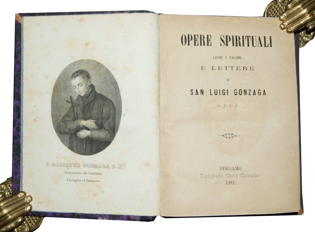 [Saint's Works, St. Aloysius Gonzaga] Opere spirituali - 2