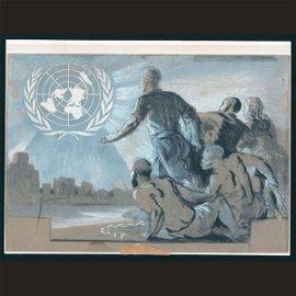 1002: UN Preliminary Sketch By O.C. Meronti