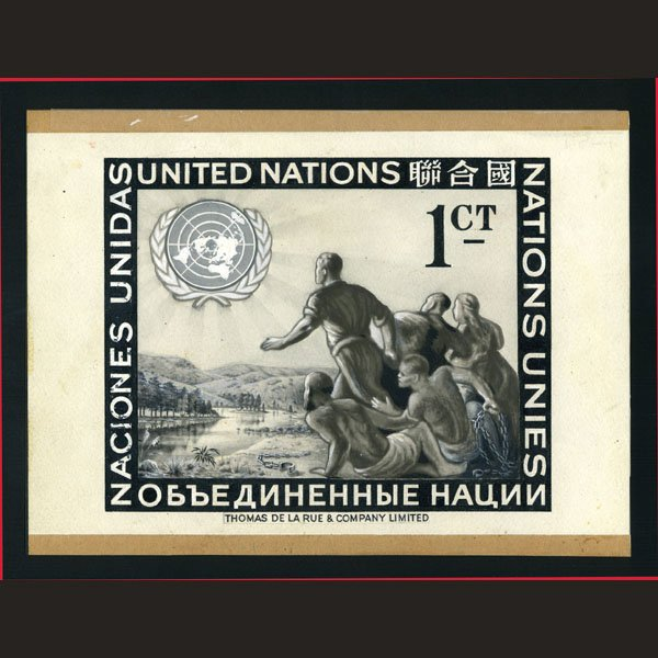 1003: UN Artist Final Sketch by O.C. Meronti