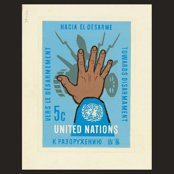1712: UN Artist's Drawing by Ole Hamann