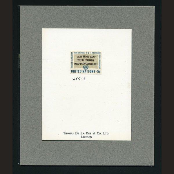 1715: UN Trial Color Die Essay - Slogan
