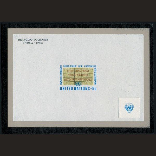 1718: UN Trial Color Die Essay - Slogan