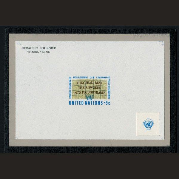 1719: UN Trial Color Die Essay - Slogan