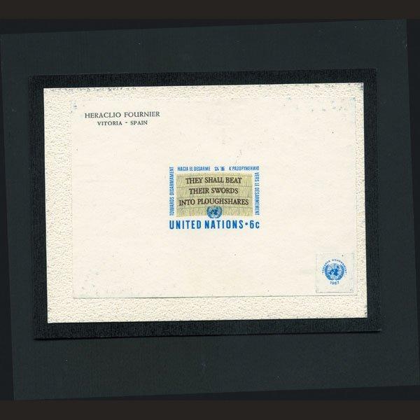 1720: UN Die Essay for 6c Design- Slogan