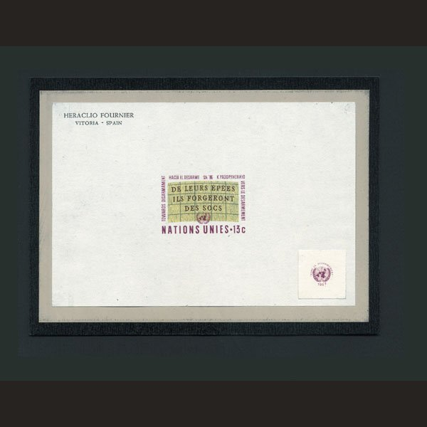 1724: UN Die Essay for 6c Design- Slogan