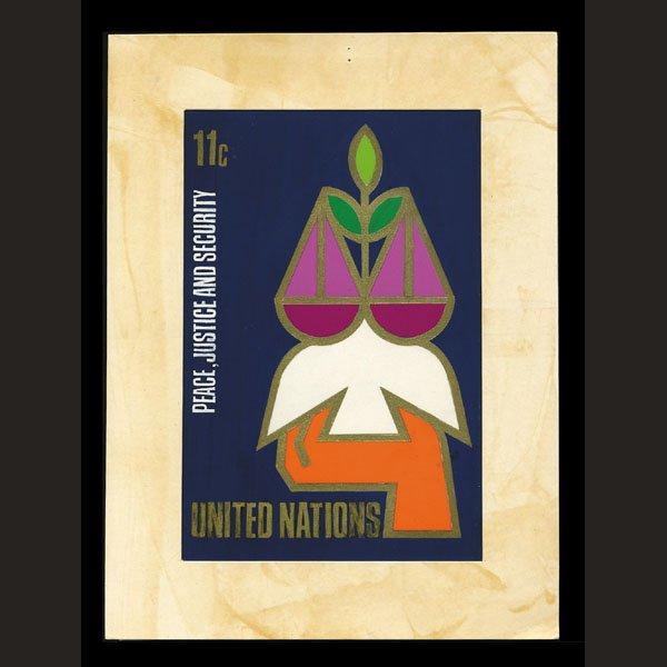 2422: UN Artist's Drawing by Gidon Sagi