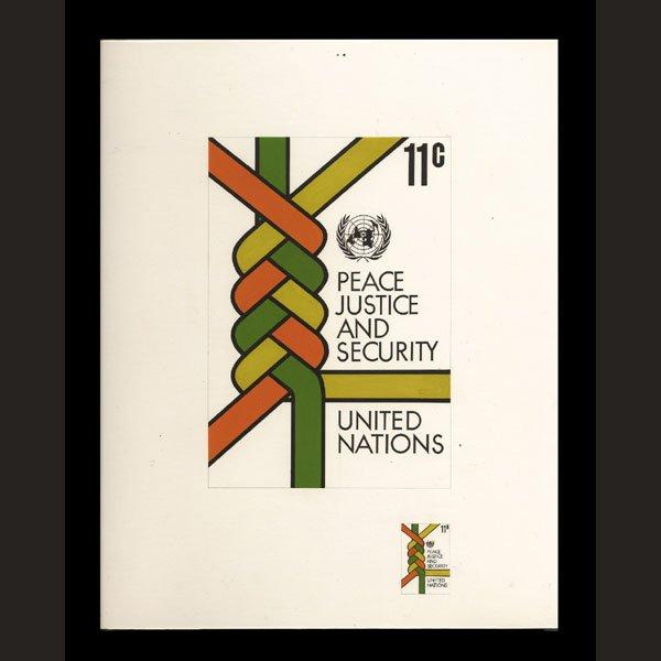 2423: UN Artist's Drawing by Karen Hagemann