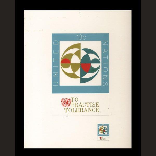 2424: UN Artist's Drawing by Ulrike Puschmann
