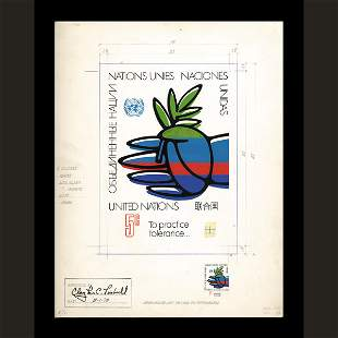 UN Approved Drawing by Raymon Muller