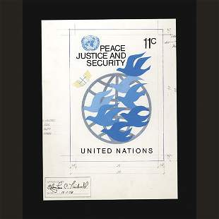 UN Approved Drawing by Young Sun Hahn