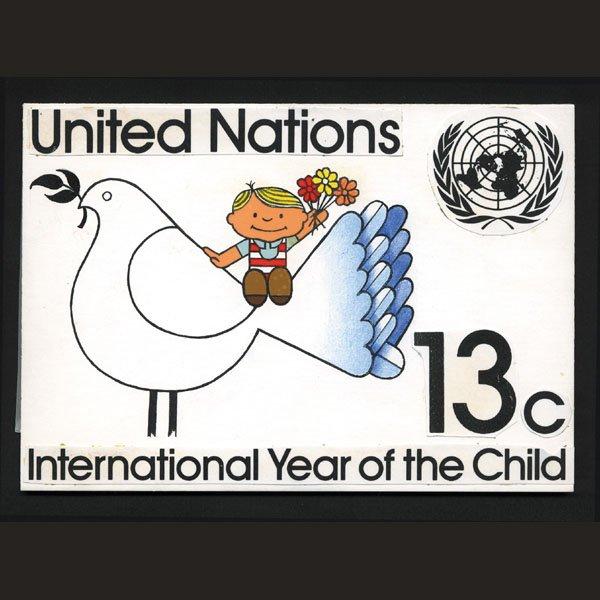 2444: UN Artist's Drawing by Dietmar Kowall
