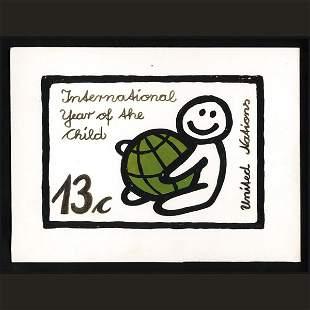 UN Artist's Drawing by Jurgen Grothues