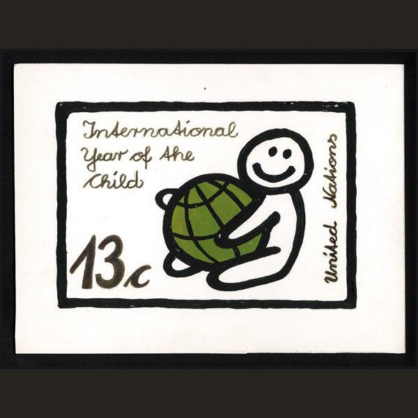 2445: UN Artist's Drawing by Jurgen Grothues