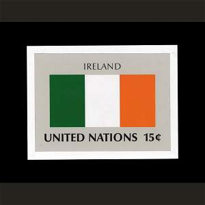 2687: UN Artist's Drawing for Ireland Flag
