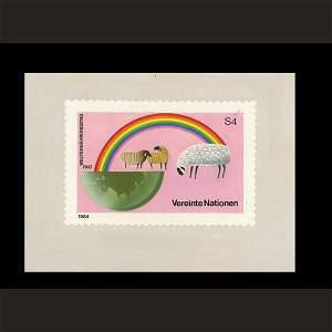2880: UN Artist's Drawing by George Hamori
