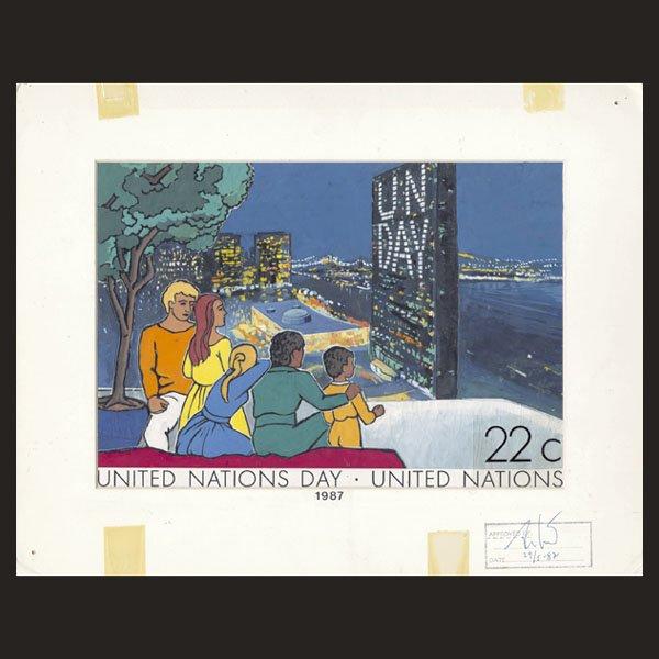 3120: UN Drawing by E. von Janota-Bzowski
