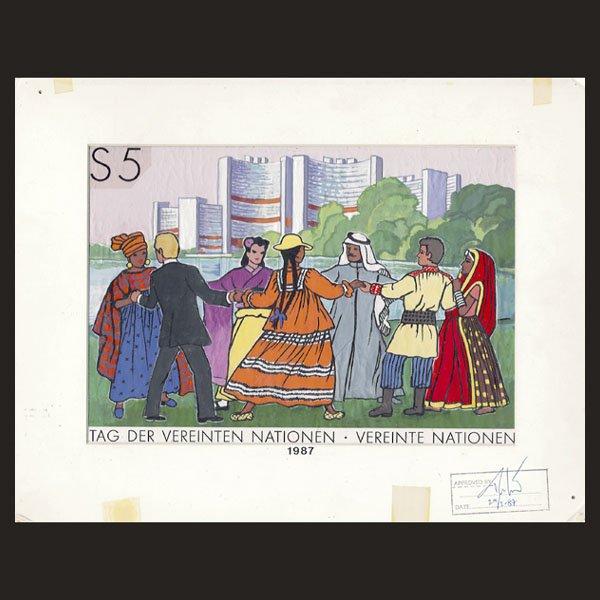 3124: UN Drawing by E. von Janota-Bzowski