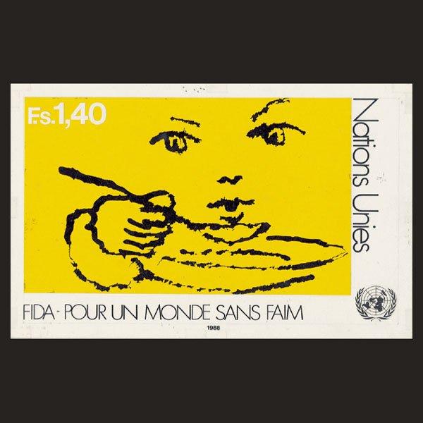 3130: UN Artist's Drawing by M. Wasilewski