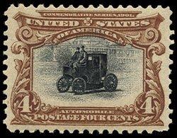 1707: #296, 4c Pan-American,