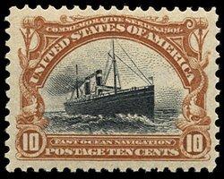 1708: #299, 10c Pan-American,