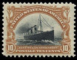 1709: #299, 10c Pan-American,