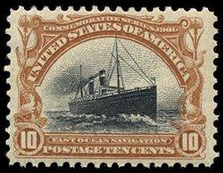 1710: #299, 10c Pan-American,