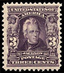 1716: #302, 3c Bright violet,
