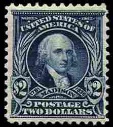#312, $2.00 Dark blue,