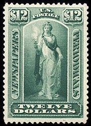 2240: #PR75, $12.00 Yellow green,