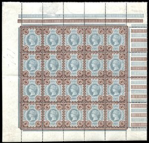 2800: #116, 1887 4p Brown and green,
