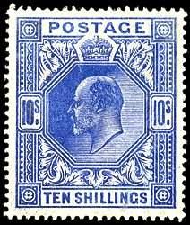 #139-41, 1902 2/6-10/- Edward VII,