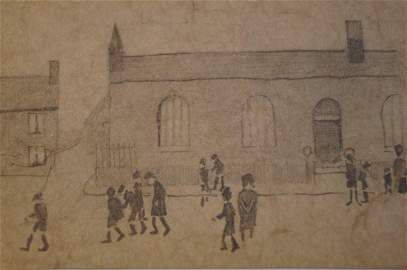 Laurence Stephen Lowry - Attributed to Laurence Stephen