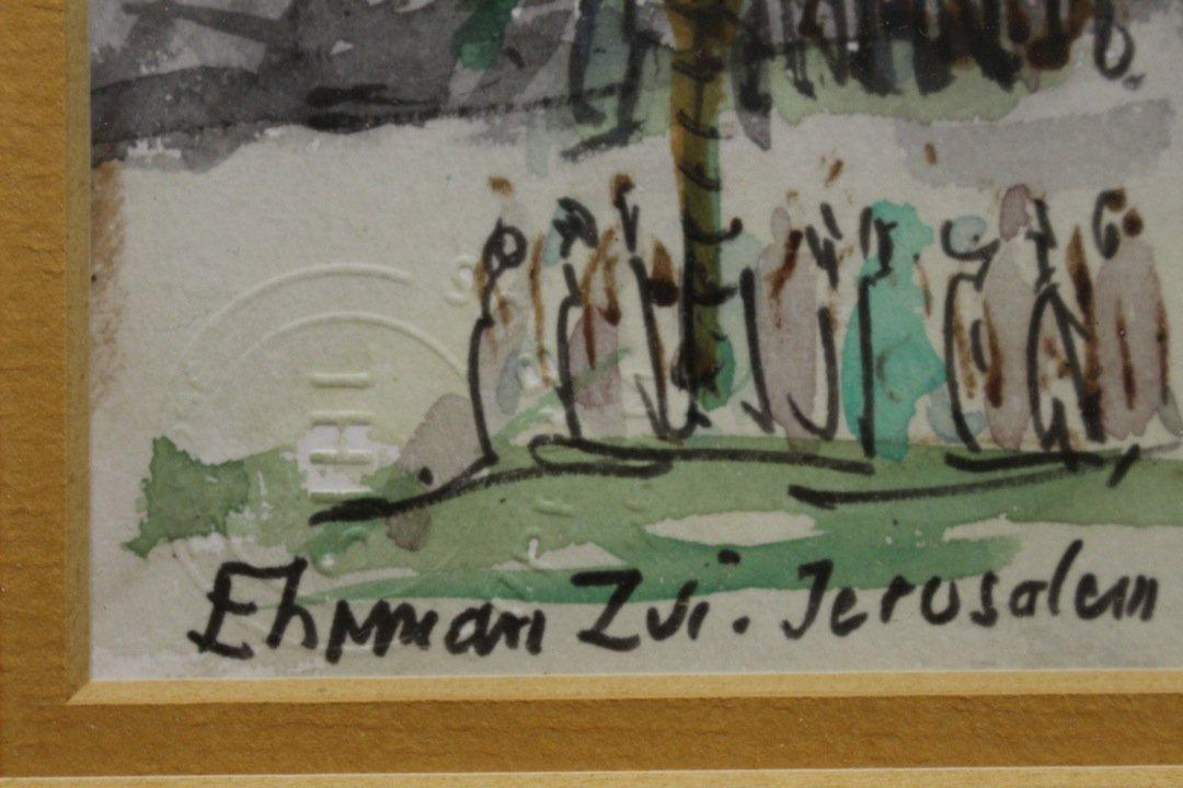 Zvi Ehrman (Polish/Israeli 1903-1993) - 3