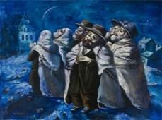 Alexander Kanchik (Russian/Israeli b. 1959)
