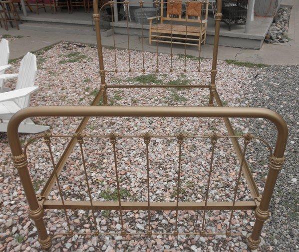 Cast Iron Brass Bed