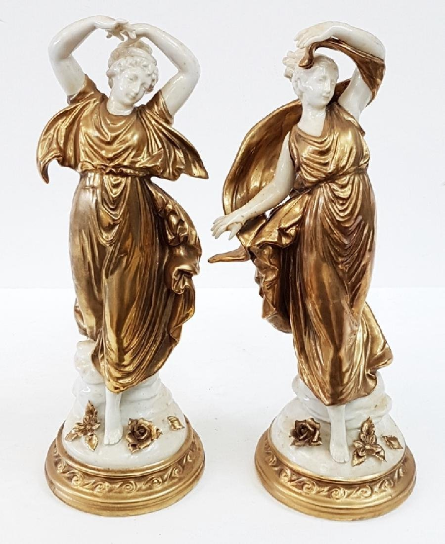 ANTIQUE PORCELAIN FIGURES