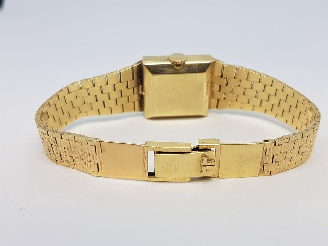 LE COULTRE VINTAGE LADIES 14K YELLOW GOLD WRISTWATCH - 2