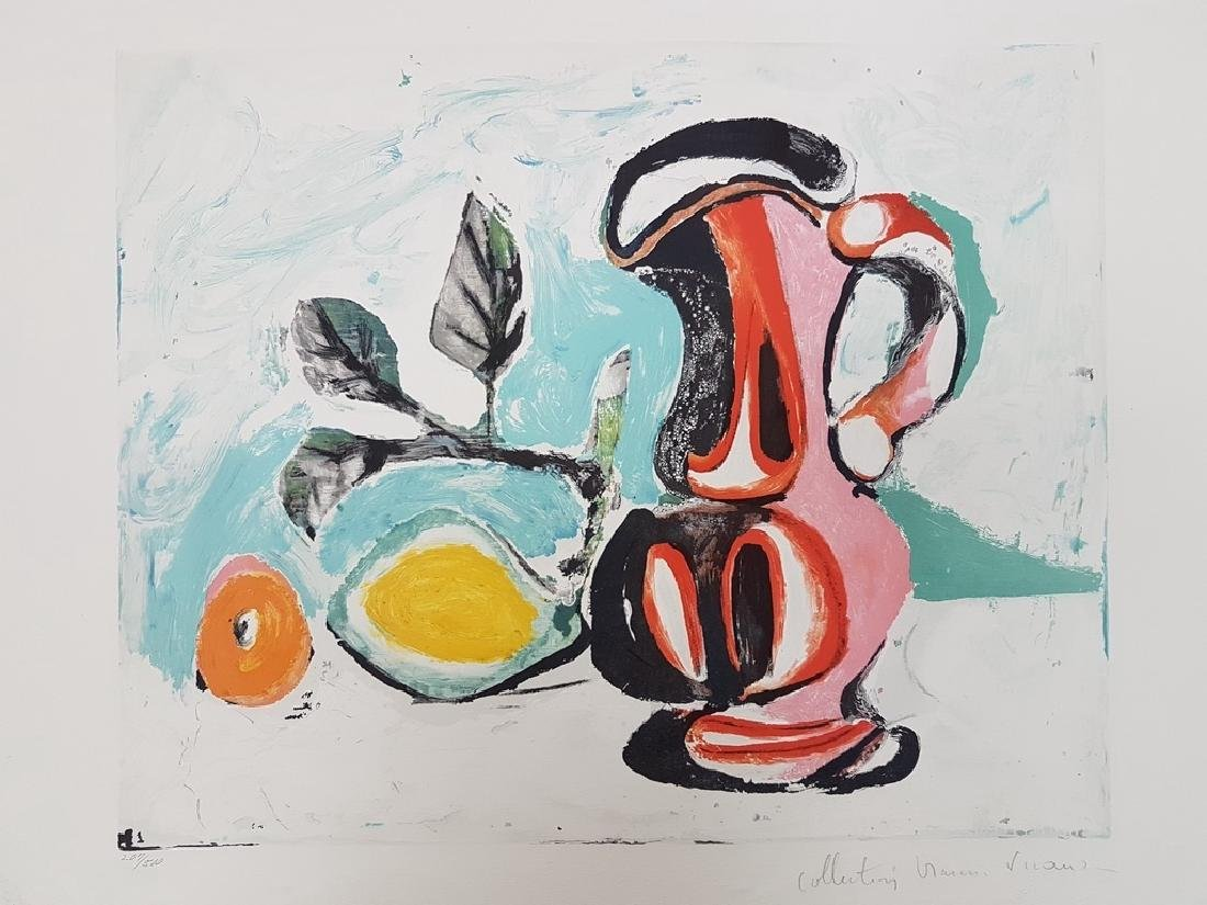PABLO PICASO NUMBERED COLOR LITHOGRAPH