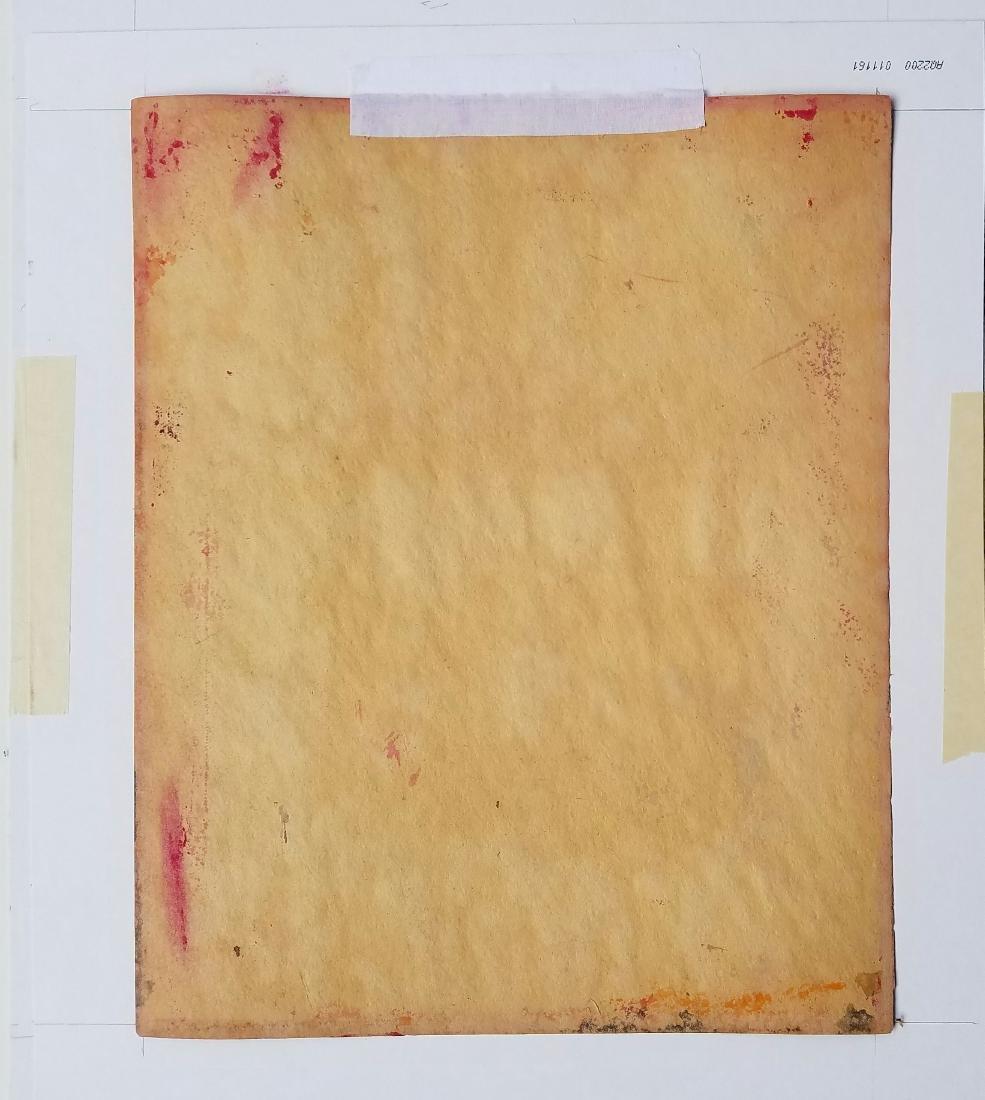 MIXED MEDIA ON PAPER Rothko - 3